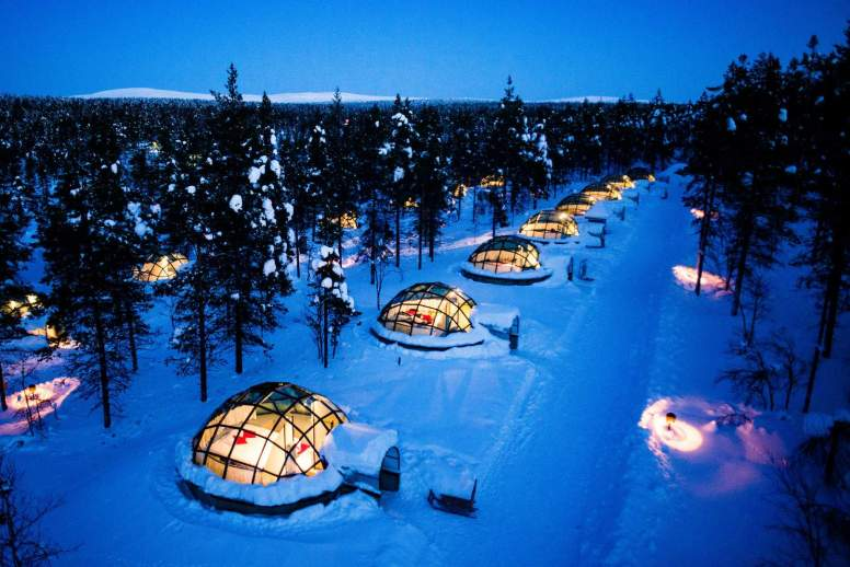 c. Jouni Porsanger, Visit Finland_Kakslauttanen Igloo Village